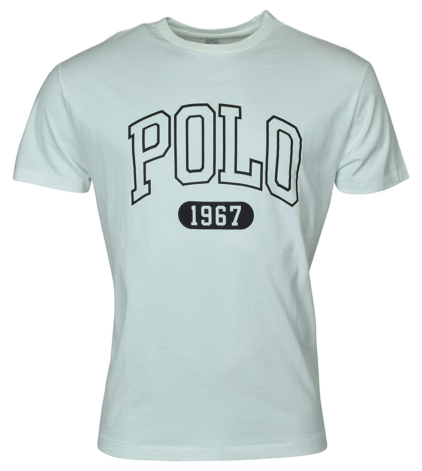 b6c7920673 Polo Ralph Lauren Mens Classic Fit Graphic Logo T-Shirt