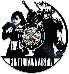 Gullei.com Final Fantasy VII Game Creative Vinyl Wall Clock Gift
