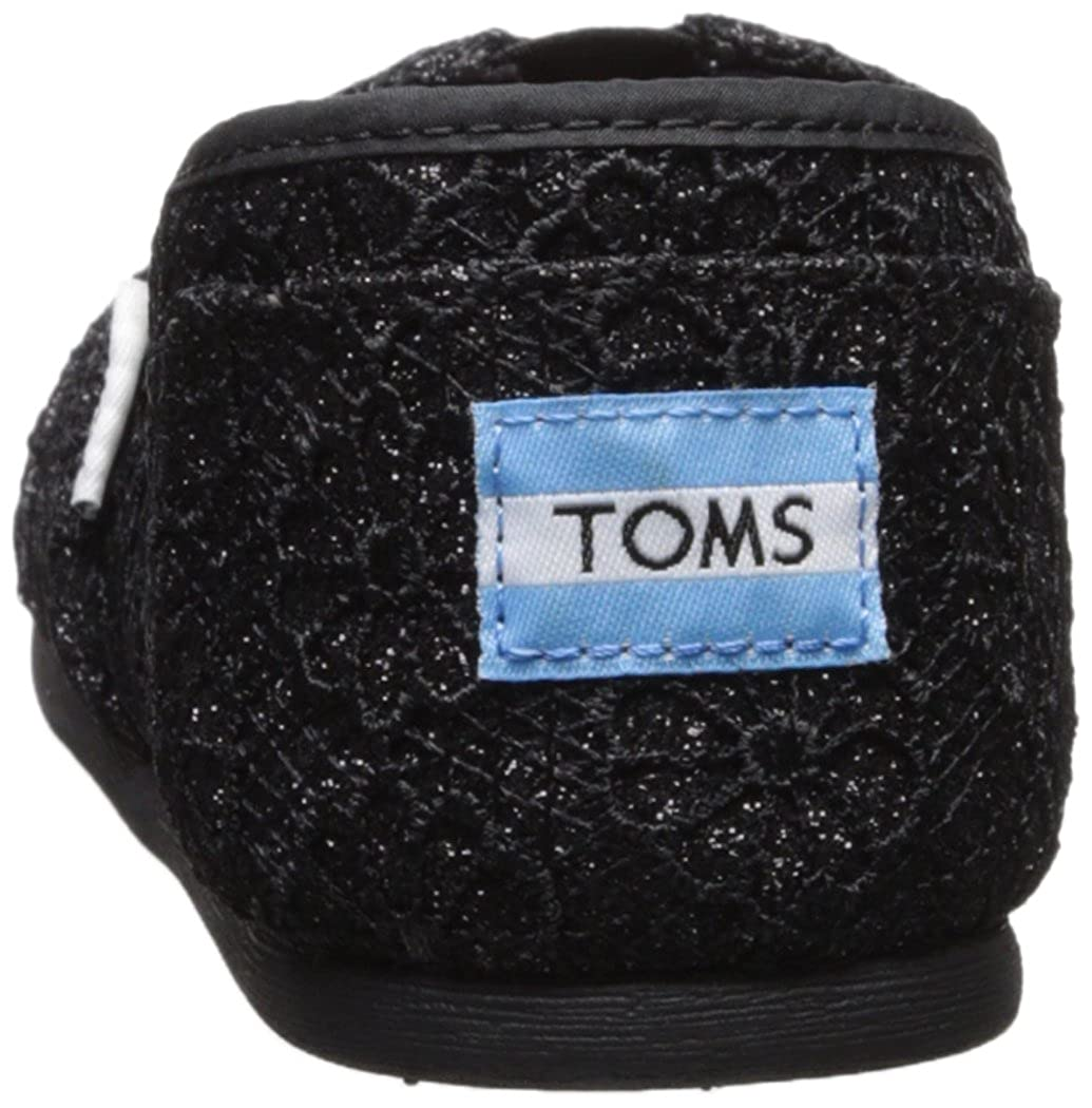 1b8488be1f19 Amazon.com | TOMS Black Crochet Glitter Women's ALPR ESP 10009295 | Fashion  Sneakers