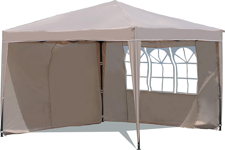 Sekey 3x3m Cenador, Tienda Plegable/Retractable del Partido de ...