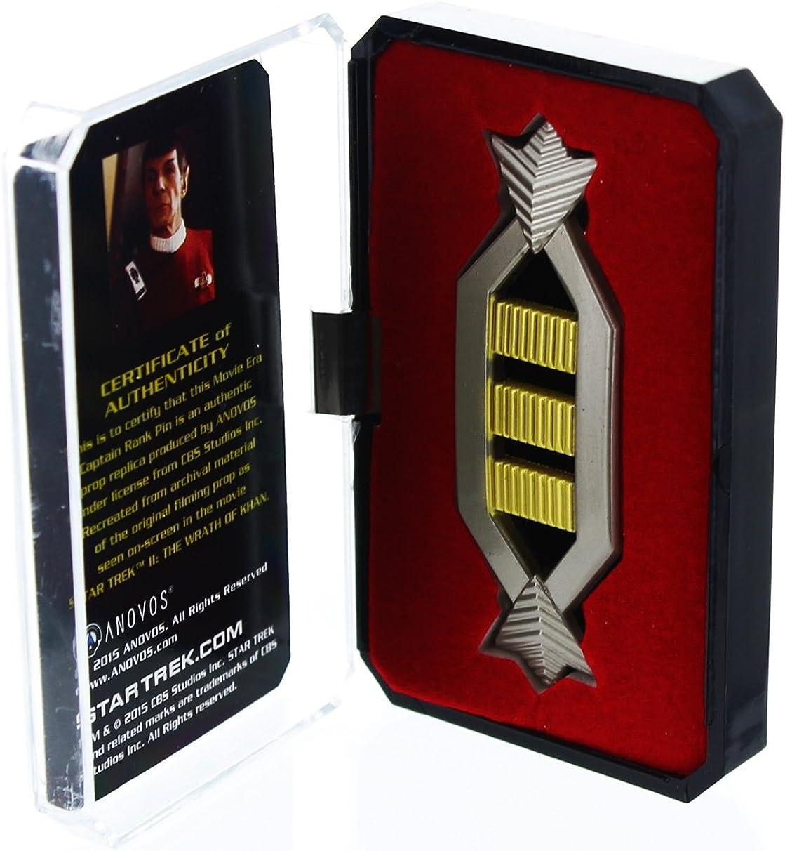 Star Trek Voyager Full Size Chest Communicator Cloisonne Metal Pin NEW UNUSED