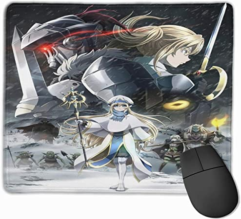 JamesMSmit Goblin Slayer Office,Game,Computer Mouse Pad,Gaming Mouse Pad,Large Mouse Pad