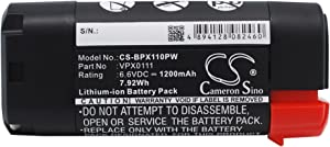 Replacement Battery for Black & Decker VPX0111 VPX1101 VPX1101X VPX1201 VPX1212 VPX1212X VPX1301 VPX1301X VPX1401 VPX1501 VPX2102