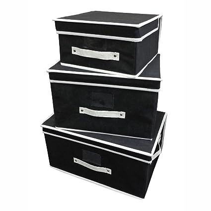 country club 3pc caja de almacenamiento cajas para guardar juguetes cajas dormitorio habitación baúl de almacenaje