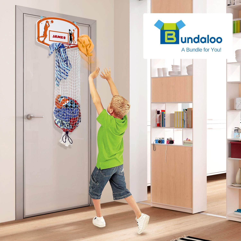 Bundaloo Canasta de baloncesto para la colada - sobre la puerta 2 ...