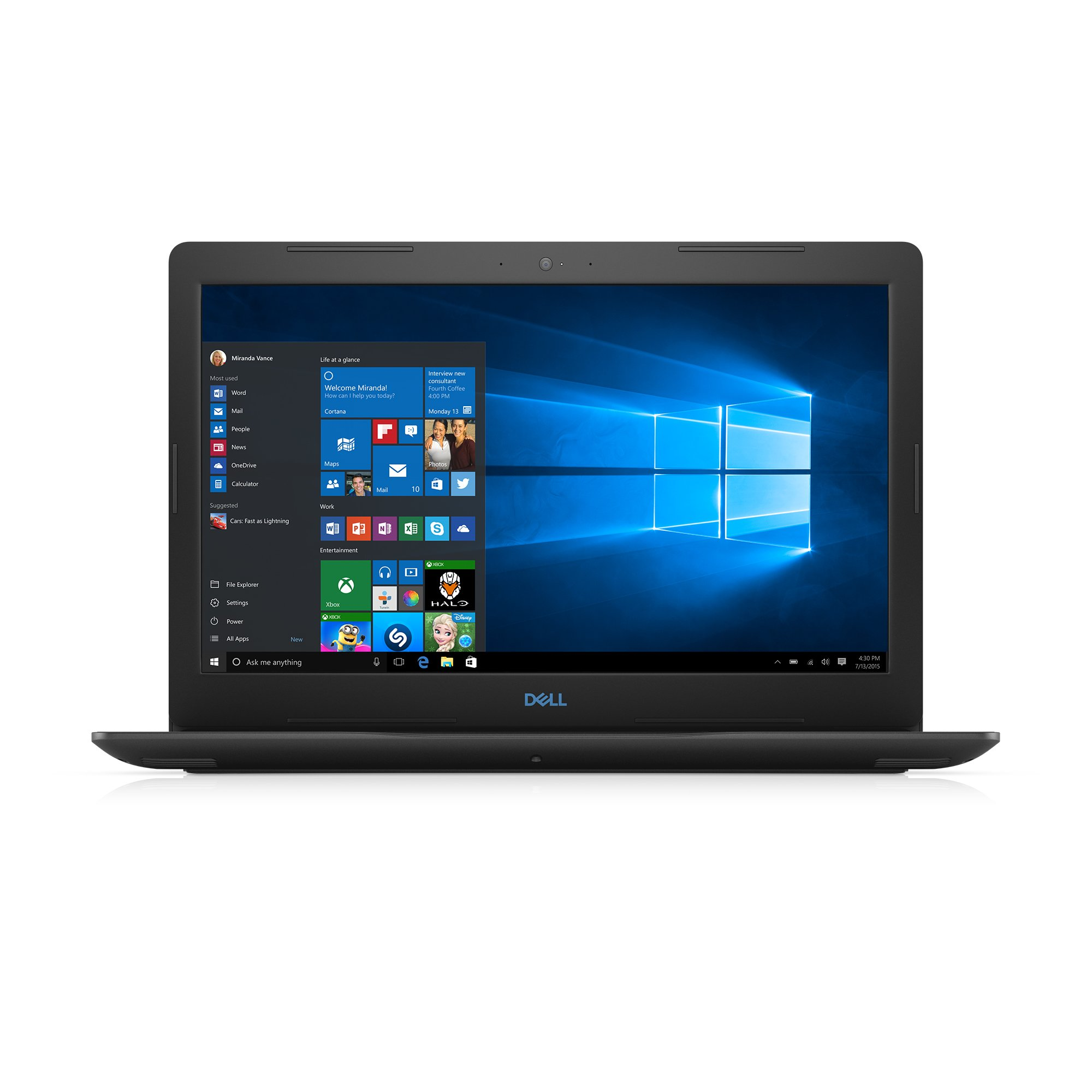 Dell Gaming Laptop G3579-5941BLK-PUS G3 15 3579 - 15.6'' Full HD IPS Anti-Glare Display - 8th Gen Intel i5 Processor - 8GB DDR4 - 128GB SSD+1TB HDD - NVIDIA GeForce GTX 1050 4GB, Windows 10 64bit