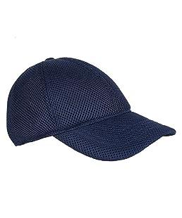 Michelangelo Full Mesh Baseball Cap for Men/Girl/Womens 4 Options Unisex Cap (Navy)