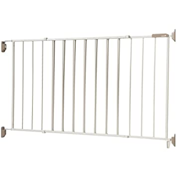 Safety 1st Wide U0026 Sturdy Sliding Metal Gate, Fits Spaces Between 40u0026quot;  ...