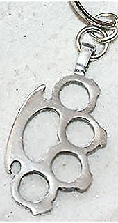 Baby BABYKNUCKS Antique Brass Chrome knuckles charm key ring bottle opener