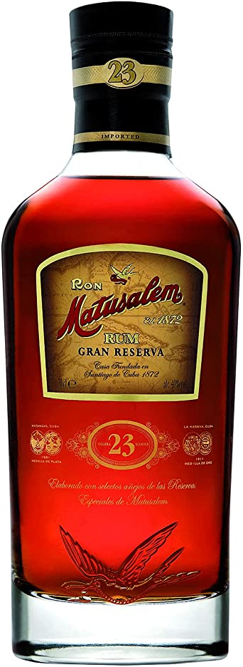 Matusalem Ron 23 Solera Gran Reserva Rum 40% Vol. 0.7L In Giftbox - 700 ml
