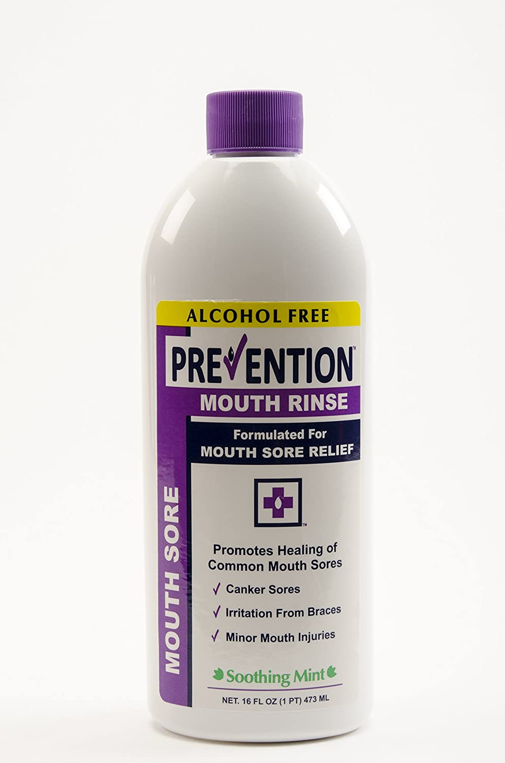 Prevention Mouth Sore Mouthwash | Alcohol Free | Canker Sore Treatment