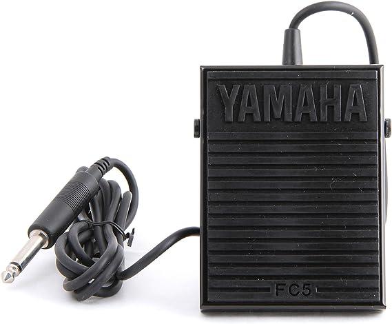 Yamaha FC-5A - Pedal de sustain para teclados y pianos electrónico, color negro