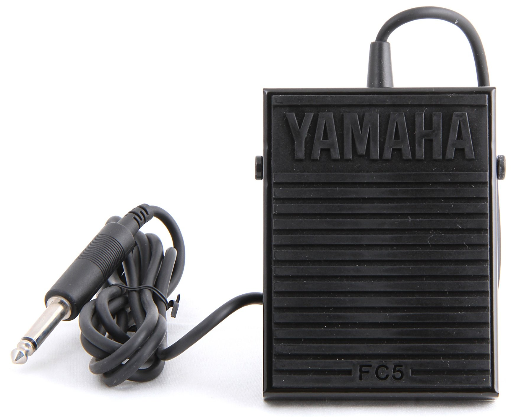 Yamaha FC5 Compact Sustain Pedal for Portable Keyboards, black