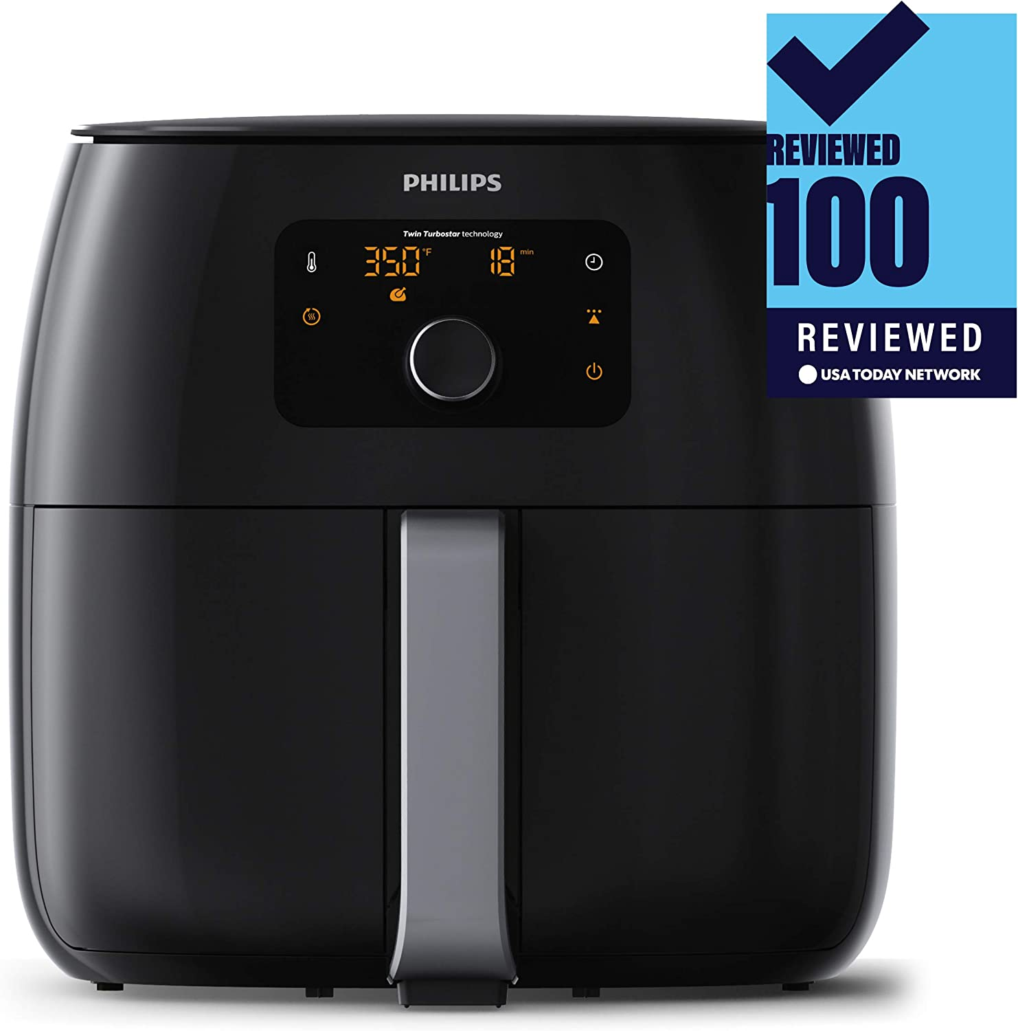 Best Air Fryers-Philips TurboStar Airfryer XXL