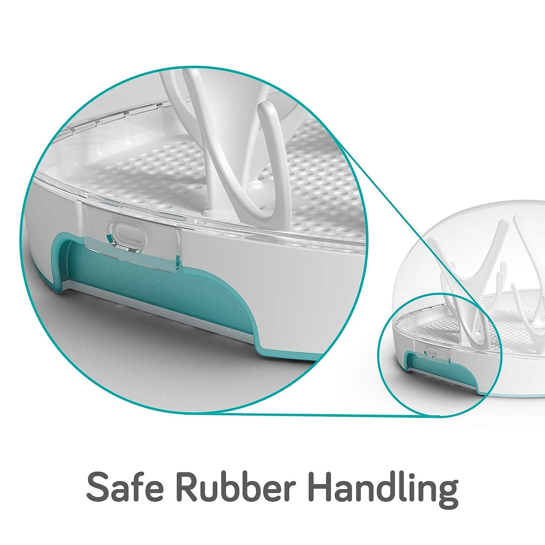 Amazon.com: Nanobébé Esterilizador de Vapor Microondas - BPA ...
