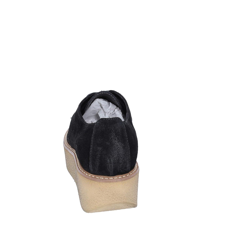 Janet Sport Chaussures /él/égantes Femme Daim Noir