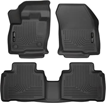 Amazon Com Husky Liners Fits 2015 20 Ford Edge Weatherbeater Front 2nd Seat Floor Mats Automotive