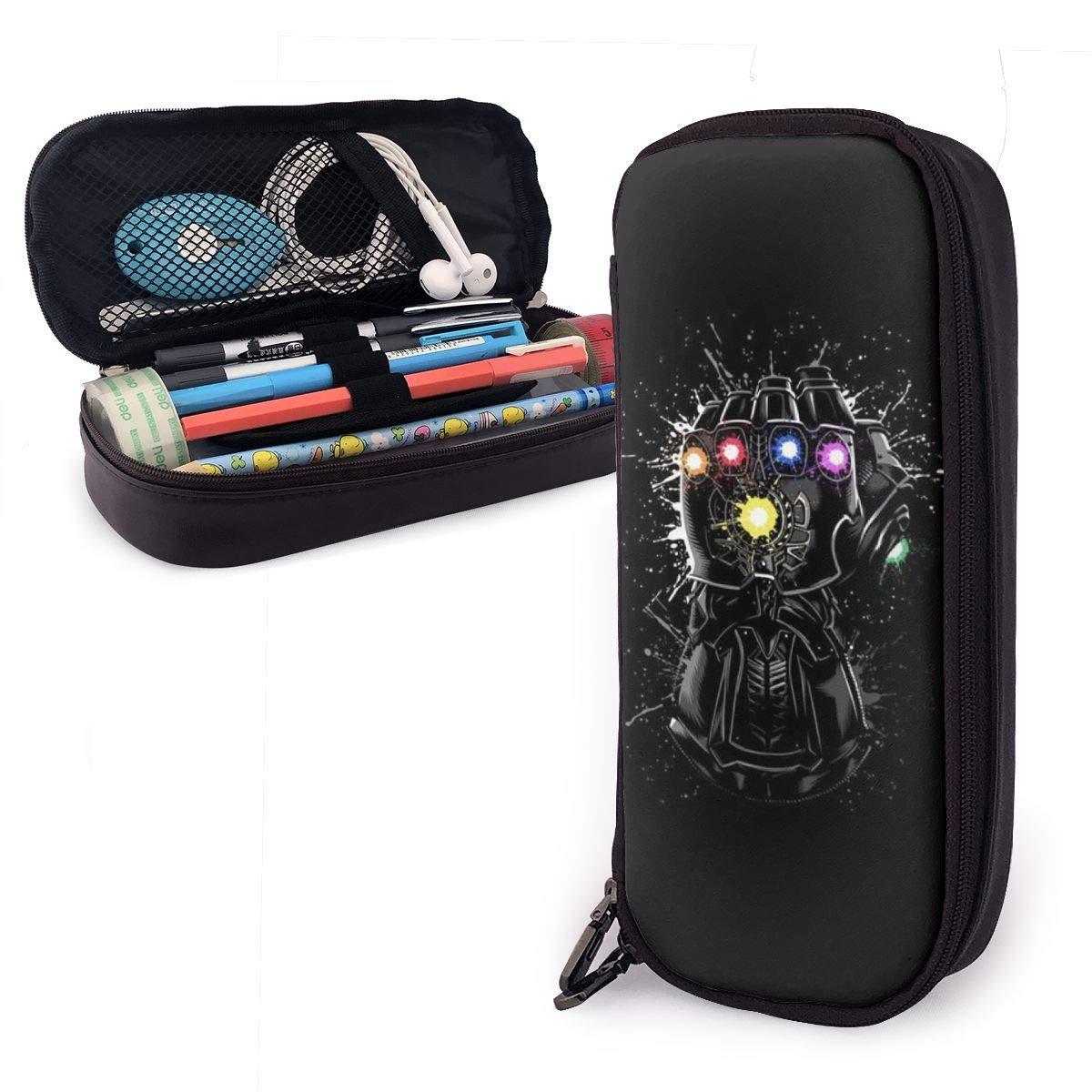 Amazon.com: Leathe Pencil Case,Thanos Infinity Gauntlet Big ...