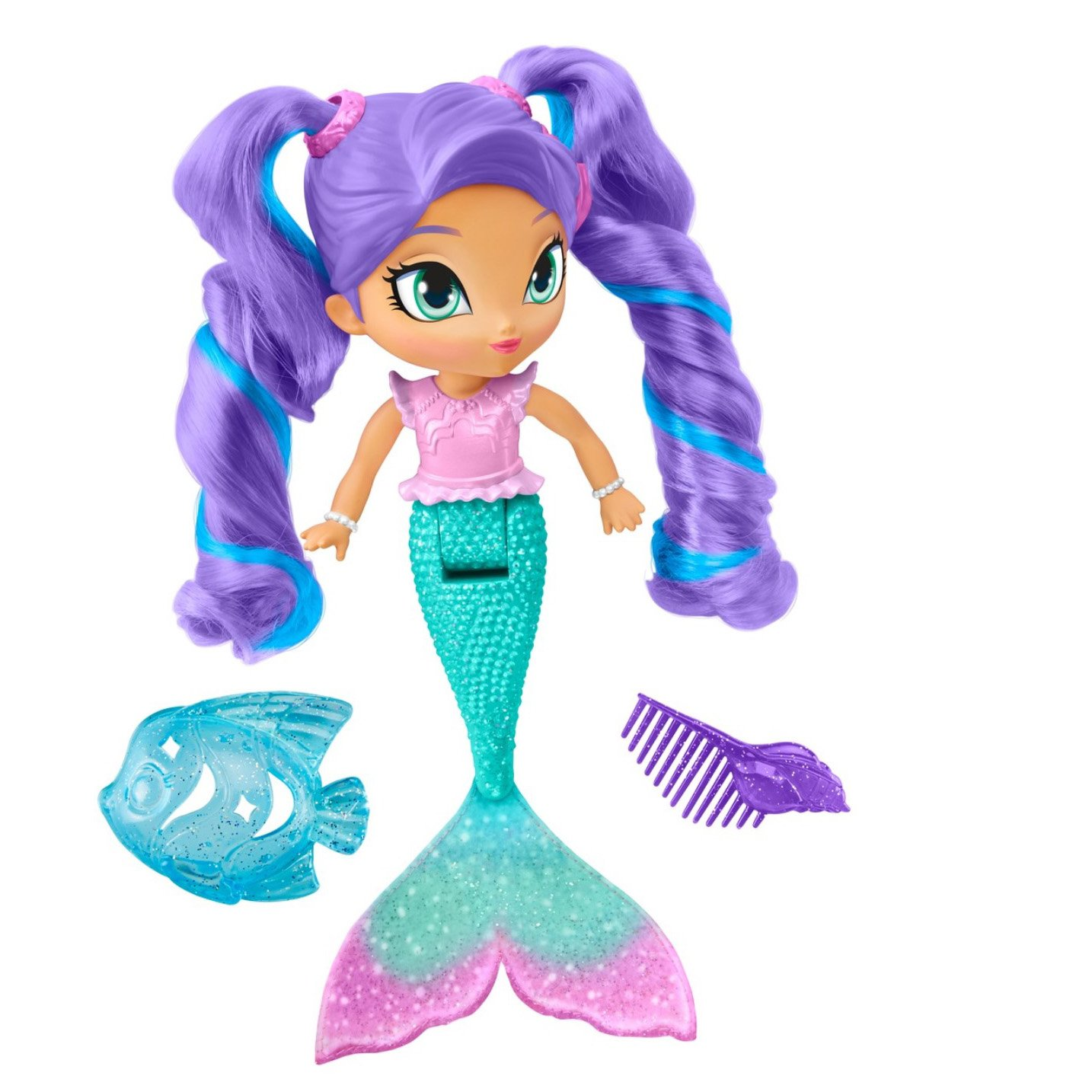 Fisher-Price Nickelodeon Shimmer & Shine, Magic Mermaid Nila Mattel - Import FOB (Hong Kong) DTK72
