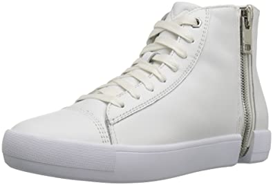 Diesel Womens Zip-Round S-Nentish W Fashion Sneaker, White, ...