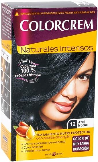 COLORCREM TINTE 12 -AZUL NOCHE: Amazon.es ...