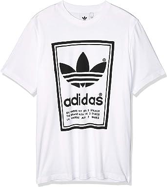 adidas Vintage tee - Camiseta Hombre: Amazon.es: Ropa y accesorios