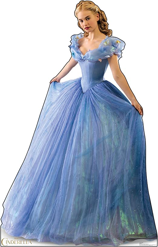 CHOOSE YOUR SIZE Movie Cinderella Poster Lily James FREE P+P Quality Large