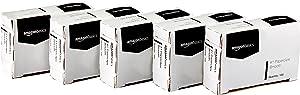 AmazonBasics No. 1 Paper Clips, Smooth, 100 Clip per Box, 10-Pack