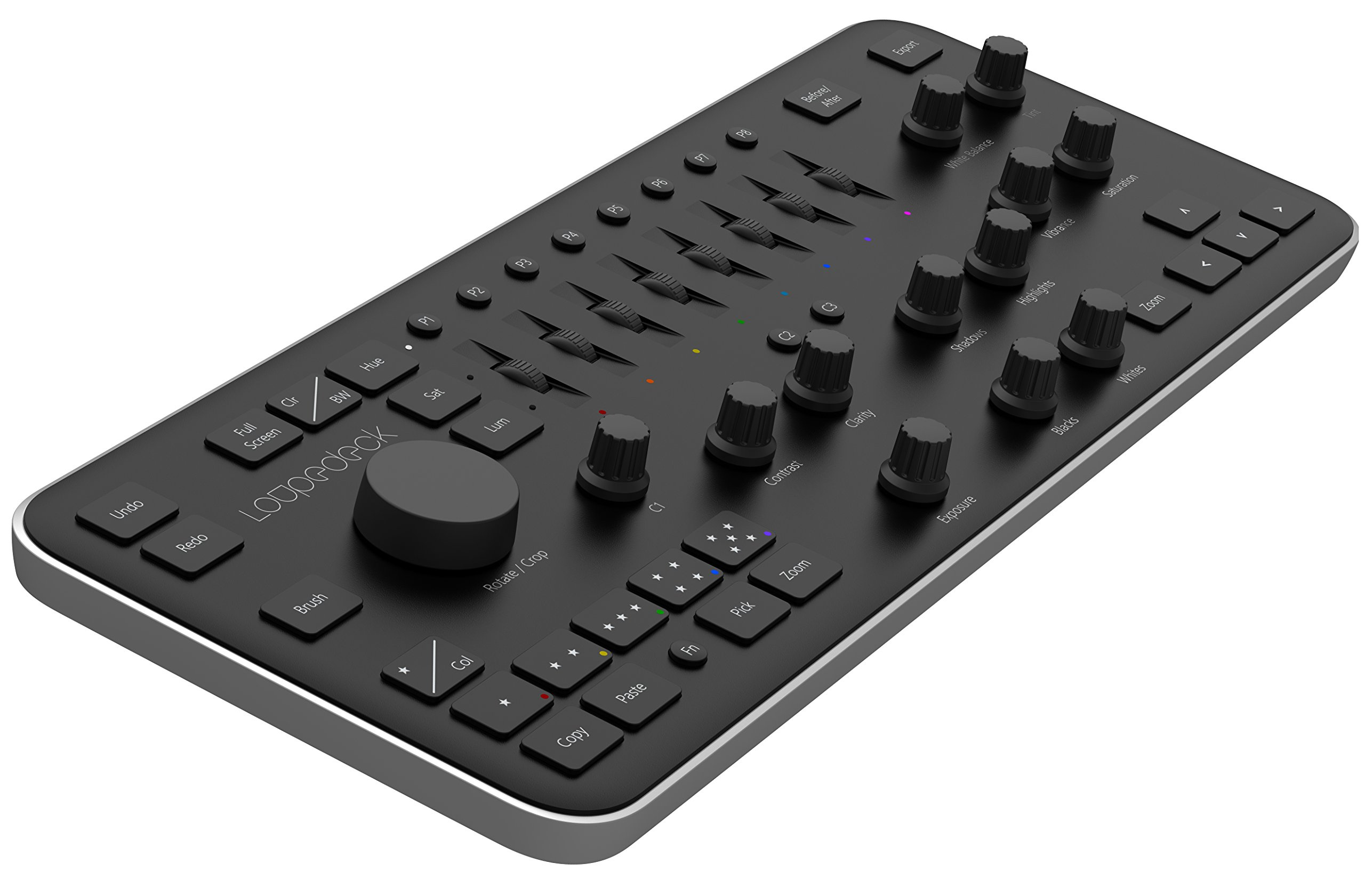 Loupedeck Photo Editing Console and Lightroom Keyboard for Adobe Lightroom 6 or Lightroom CC by Loupedeck