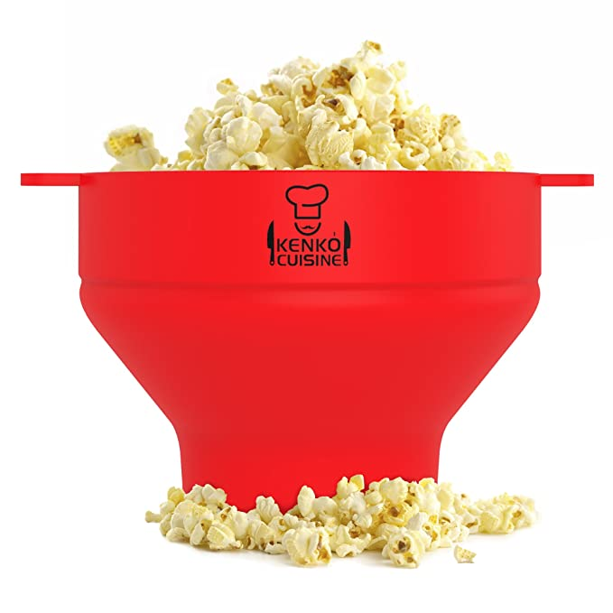 Kenko cocina microondas palomitas de maiz poppers con tapa ...