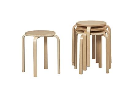 Superieur Linon Home Decor Stacking Stool, Natural