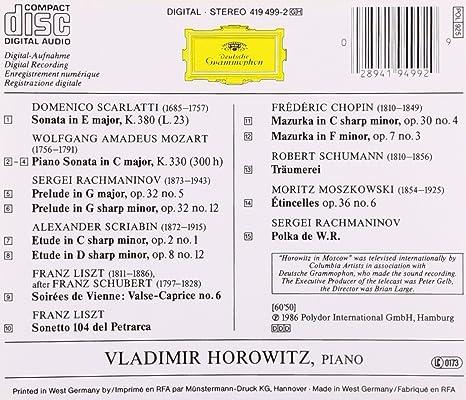 horowitz in moscow dvd