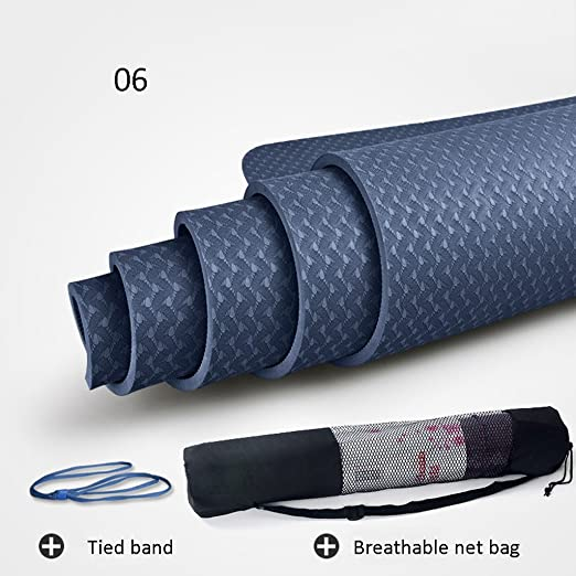 YOGA MAT - Esterilla de Yoga (Antideslizante, 8 mm: Amazon ...