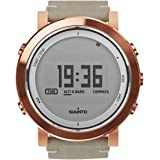 Suunto Mens Essential SS022441000 Copper Leather Swiss Quartz Watch