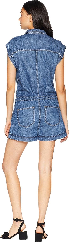48a024594b64 Sanctuary Women s Scout Denim Romper Skyla Wash Small  Amazon.co.uk   Clothing