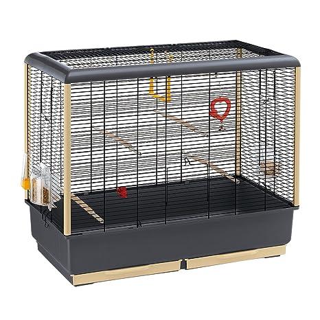Feplast 52062811W2 Jaula para Canarios y Otros Pequeños Pájaros ...