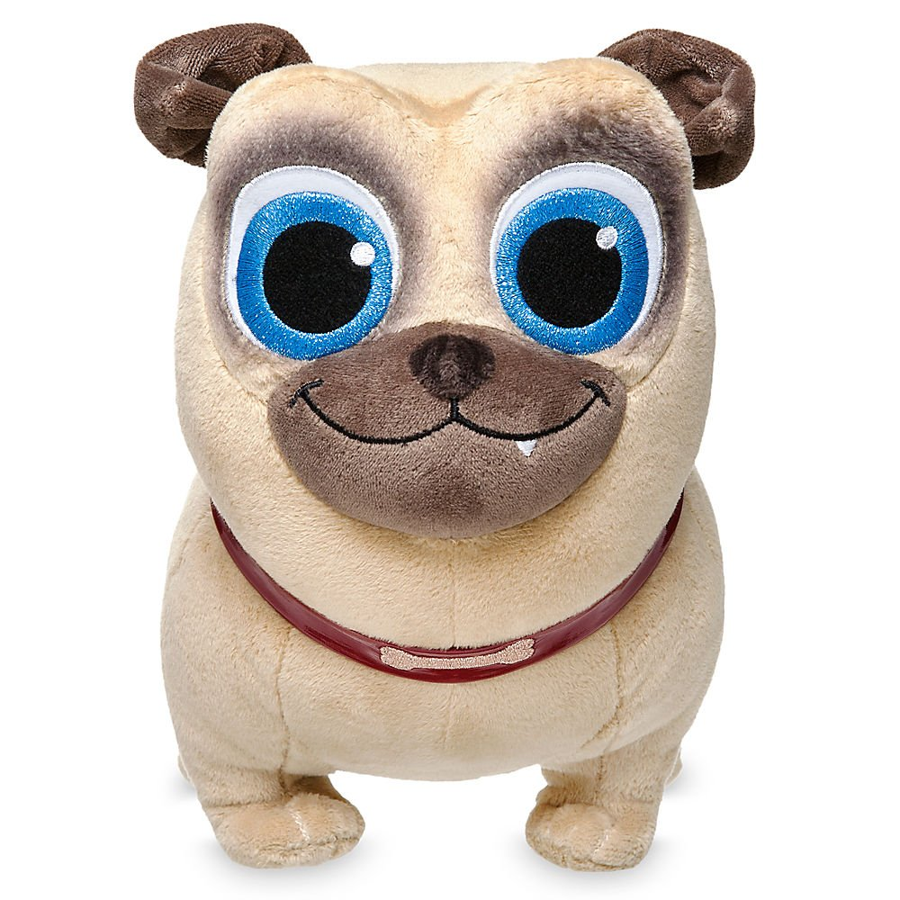 Disney Rolly Plush - Puppy Dog Pals - Small - 12 inch 412303939084
