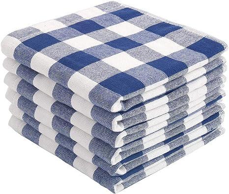 pack 12  Paños de cocina de algodón 100/% trapos 100/% cotton tea towels