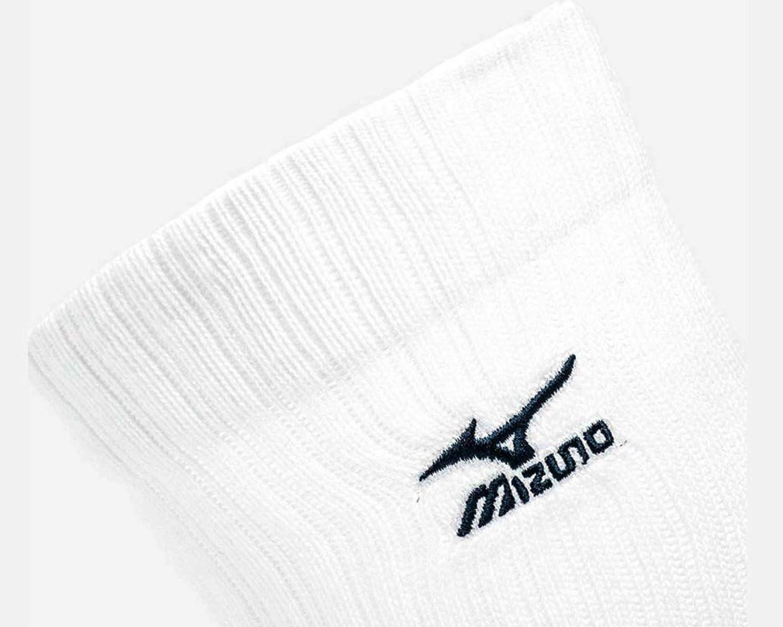 Mizuno Volley Socks Mid calze calzini pallavolo unisex Bianco