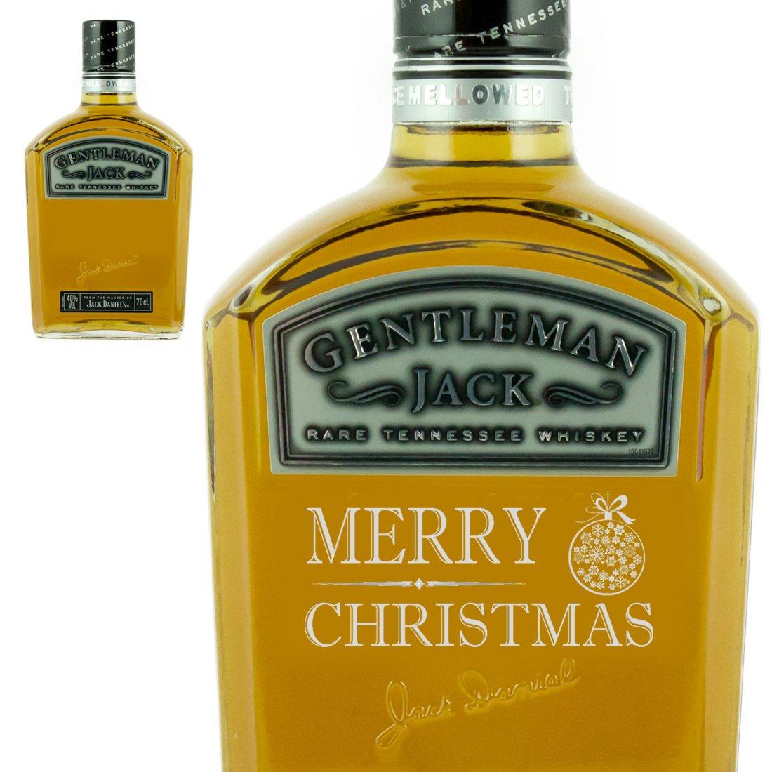 Personalised Christmas Gift bottle of Jack Daniels Gentleman Jack ...