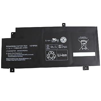 VGP-BPS34 VGP-BPL34 BPS34 batería del Ordenador portátil para Sony Vaio 15 Touch SVF15A16CXB SVF14AC1QL SVF14AC1QU SVF14A14CXP SVF14A14CXS SVF14A15CXB ...