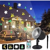 IREGRO Luces de Proyector Navidad LED Luz