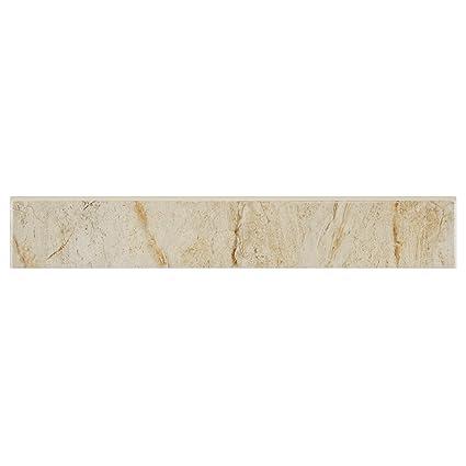 Somertile Fpm18dmb Dena Ceramic Bullnose Floor And Wall Trim Tile 3