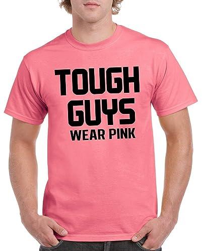 84b70038cf Amazon.com: Gildan Men's Tough Guys Wear Pink t-shirt - funny t ...