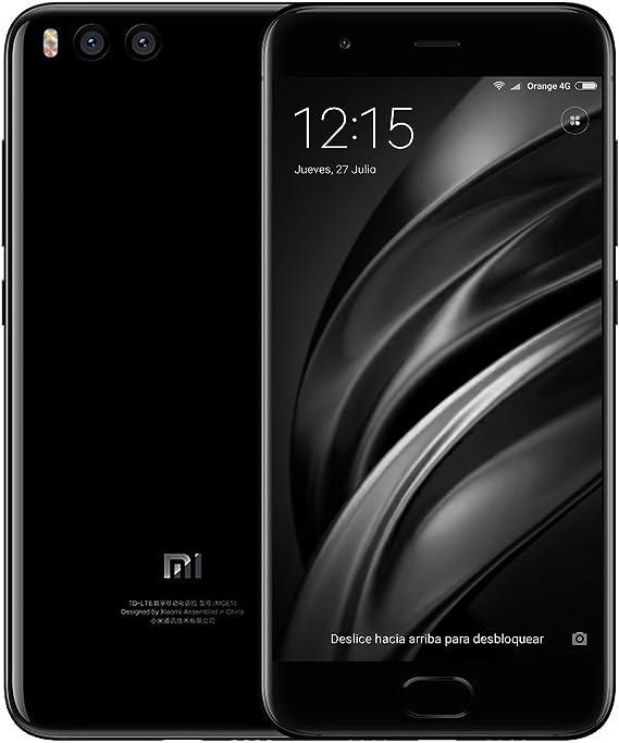 Xiaomi MI 6 - Smartphone de 5.15″ (Snapdragon 835, 6 GB RAM, 64 GB ...