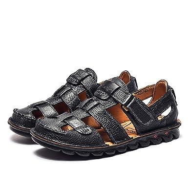 e82560400d4d7 Amazon.com: Summer Roman Gladiator Sandals, Mens Leather Sandals ...