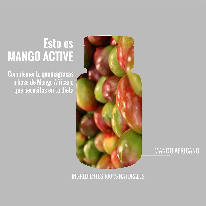 Extracto de Mango Africano, complemento quemagrasas, pérdida de peso, controla el apetito para la pérdida de peso, dieta, 45 cápsulas,