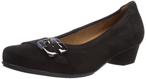 ara Nancy - zapatos de tacón cerrados de cuero mujer, color negro, talla 38: Amazon.es: Zapatos y complementos