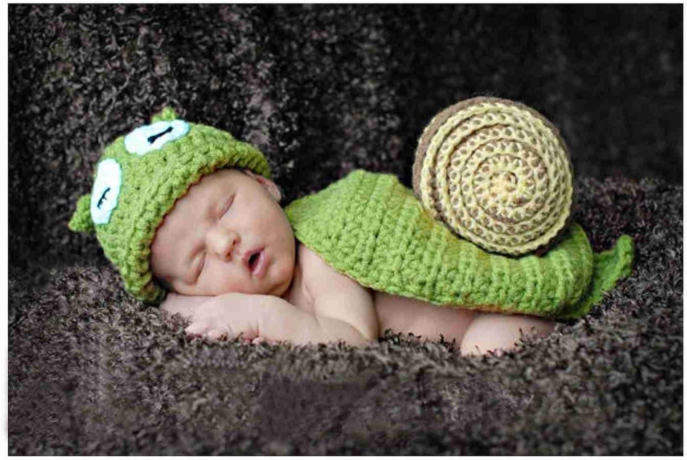 DAYAN Bebé Ganchillo disfraces disfraz de animales 3 ~ 6 Meses ...