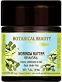 MORINGA BUTTER –OIL 100 % Natural / VIRGIN UNREFINED BLEND / 100% PURE BOTANICAL. 4 Fl.oz.- 120 ml. For Skin, Hair and Nail Care.